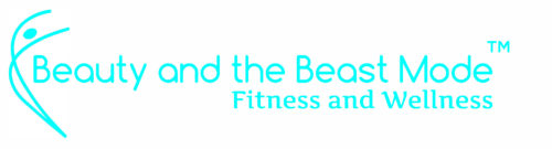 Beauty and the Beast Mode Fitness Logo